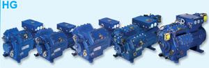 Охлаждаемые всасываемым газом полугерметичные поршневые холодильные компрессоры Bock серии HG
