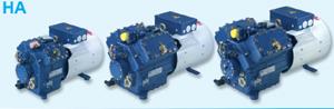 Охлаждаемые окружающим воздухом поршневые полугерметичные компрессоры Bock серии HА