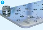 Клапанная доска полугерметичного поршневого компрессора BOCK со стороны клапанов всасывания