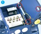 Размещение электрооборудования в клеммной коробке исполнения IP54 полугерметичного поршневого компрессора BOCK HG6/1410-4