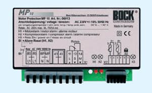 Электронный блок защиты полугерметичных холодильных компрессоров Bock MP10