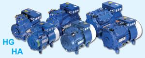 Полугерметичные 2-х и 4-х цилиндровые компрессоры Bock нового поколения Pluscom