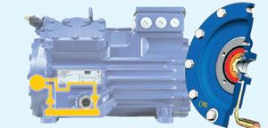 Система смазки полугерметичного компрессора Bock HG4/830-4