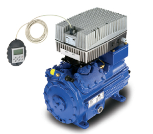 Полугерметичный компрессор BOCK HG34P/255-4 с частотным регулятором производительности EFC Electronic Frequency Control