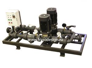 Энергосберегающий насосный агрегат с частотным приводом