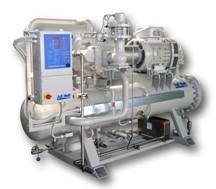 Промышленные энергосберегающие холодильные агрегаты на базе винтовых компрессоров J&E HALL
