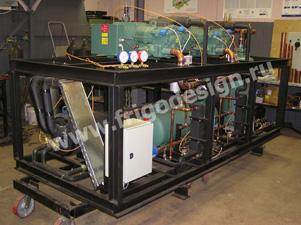 Холодильная установка производства Фригодизайн на комбинате праздничных вин
