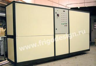 Многокомпрессорная холодильная установка для камер хранения сырья
