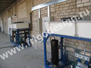 Холодильные установки уличного исполнения для камер хранения мороженного