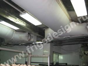 Воздухоохладители CROCCO с текстильными воздуховодами
