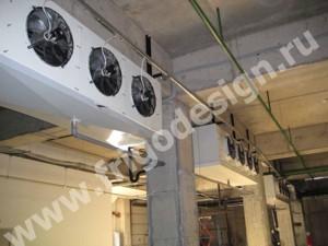 Воздухоохладители и конденсаторы CROCCO на складе алкогольной продукции