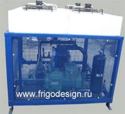 Холодильная установка для охлаждения дистиллированной воды
