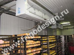Камера с холодильным оборудованием Фригодизайн для хранения колбасных изделий