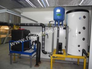 Насосный агрегат для обеспечения циркуляции этиленгликоля