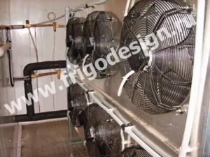 Напольный воздухоохладитель СROCCO