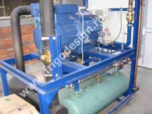 Система кондиционирования воздуха цеха с регулированием влажности на компрессоре BOCK