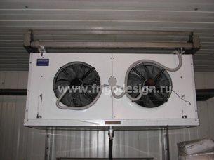 Воздухоохладители и конденсаторы CROCCO для склада