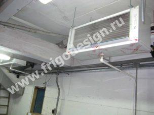 Воздухоохладитель CROCCO на складе мороженого