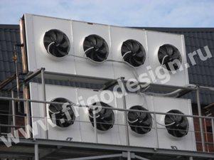 Воздухоохладители и конденсаторы CROCCO на колбасном заводе