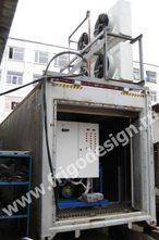 Холодильная установка для замораживания полуфабрикатов на компрессорах BOCK