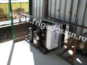 Холодильная установка для камеры хранения колбасы на компрессоре LUNITE HERMETIQUE TECUMSEH EUROPE