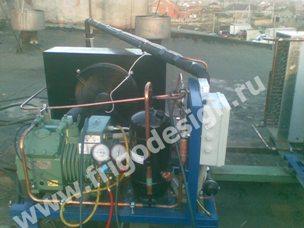 Холодильная установка для камеры хранения теста (-25ºС) на компрессорах BITZER производительностью 5 кВт