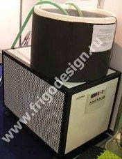 Холодильная установка на базе агрегата L'UNITE HERMETIQUE