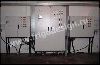 Для управления работой всеми холодильными установками и режимами работы камер была поставлена и смонтирована система компьютерного мониторинга и дистанционного управления