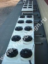 Холодильное оборудование для камеры охлаждения и хранения кетчупа и маойнеза